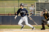 SAN ANTONIO, TX - APRIL 2, 2021: The University of Texas at San Antonio Roadrunners drop a pair to the University of Southern Mississippi Golden Eagles (13-9, 11-5) at Roadrunner Field (Photo by Jeff Huehn).