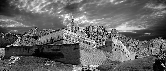 18th Century Ottoman architecture of the Ishak Pasha Palace (Turkish: İshak Paşa Sarayı) ,  Ağrı province of eastern Turkey..