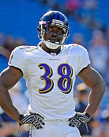 21 October 2007: Baltimore Ravens running back Mike Anderson warms up prior to a game against the Buffalo Bills at Ralph Wilson Stadium in Orchard Park, NY. The Bills defeated the Ravens 19-14 in front of 70,727 fans marking their second win of the 2007 season...Mandatory Photo Credit: Ed Wolfstein Photo
