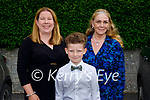 Tim Henry Lucade with Mary Kay and Patricia McGuire at his confirmation in St Brendan's Church Ballymac on Thursday.