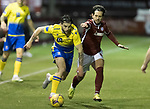 Kelty Hearts v St Johnstone…07.10.20   New Central Park  Betfred Cup<br />Craig Conway and Dylan Easton<br />Picture by Graeme Hart.<br />Copyright Perthshire Picture Agency<br />Tel: 01738 623350  Mobile: 07990 594431