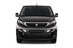 Car photography straight front view of a 2020 Peugeot e-Expert FT-Premium 5 Door Cargo Van Front View