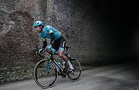 Laurens De Vreese (BEL/Astana)<br /> <br /> 61th E3 Harelbeke 2018 (1.UWT)<br /> 1day race: Harelbeke › Harelbeke - BEL (206km)
