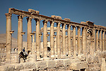 The Great Colonnade was the main connecting road stretching between the main funerary temple in the west and the Temple of Bel in the east