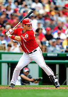 5 July 2009: Washington Nationals' outfielder Josh Willingham in action against the Atlanta Braves at Nationals Park in Washington, DC. The Nationals defeated the Braves 5-3 to take the rubber game of their 3-game weekend series. Mandatory Credit: Ed Wolfstein Photo