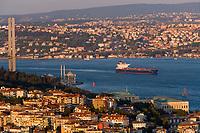 Europe/Turquie/Istanbul :  Pont du Bosphore //  Europe / Turkey / Istanbul: Bosphorus Bridge