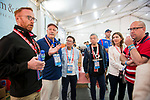 Behind The Scene Tour during the HSBC Hong Kong Rugby Sevens 2018 on 07 April 2018, in Hong Kong, Hong Kong. Photo by Christopher Palma / Power Sport Images