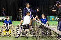 Rotterdam, The Netherlands, 17 Februari, 2018, ABNAMRO World Tennis Tournament, Ahoy, Tennis, Wheelchair Final, Gustavo Fernandez (ARG), Alfie Hewett (GBR)<br /> <br /> Photo: www.tennisimages.com