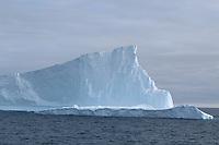 Tall iceberg Iceberg near Joinville Island, Antarctic peninsula,Weddel Sea, Southern Ocean, Antarctica