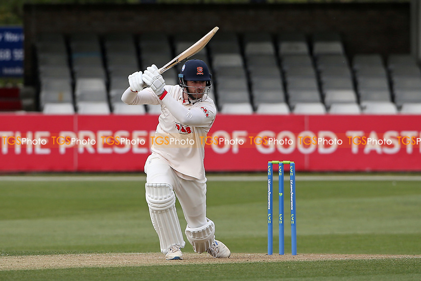 Paul Walter in batting action for Essex during Essex CCC vs Worcestershire CCC, LV Insurance County Championship Group 1 Cricket at The Cloudfm County Ground on 8th April 2021