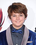 Max Charles attends The Twentieth Century Fox and Dreamwork Animation Holly-Woof Premiere of Mr. Peabody & Sherman Premiere held at The Regency Village Westwood in Westwood, California on March 05,2014                                                                               © 2014 Hollywood Press Agency