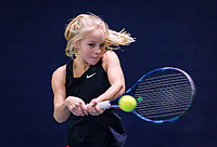 Hilversum, Netherlands, December 2, 2018, Winter Youth Circuit Masters, Emily Schut (NED)<br /> Photo: Tennisimages/Henk Koster