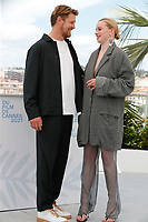 """CANNES, FRANCE - JULY 15: Dutch actor Gijs Naber and Swiss actress Luna Wedler at the """"A Felesegem Tortenete/The Story Of My Wife"""" photocall during the 74th annual Cannes Film Festival on July 15, 2021 in Cannes, France. <br /> CAP/GOL<br /> ©GOL/Capital Pictures"""