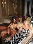 FRANCESCA LANCETTI<br /> DICIOTTESIMO COMPLEANNO DI ELISABETTA DE BALKANY<br /> PALAZZO VOLPI     VENEZIA     AGOSTO  1990