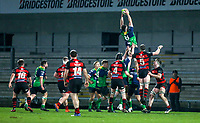 Friday 6th March 2020 | Armagh RFC vs Ballynahinch RFC<br /> <br /> Conal Boomer during the Bank Of Ireland Ulster Senior Cup Final between the City of Armagh RFC and Ballynahinch RFC at Kingspan Stadium, Ravenhill Park, Belfast, Northern Ireland. Photo by John Dickson / DICKSONDIGITAL