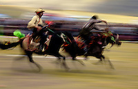 Images from the Book Journey Through Colour and Time.The horse races at Naqu Horse Racing Festival are held at 4,500 meters above sea level, it is probably the highest in the world