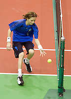 10-2-10, Rotterdam, Tennis, ABNAMROWTT, Gael Monfils, Olivier Rochus
