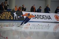 SPEEDSKATING: 14-02-2020, Utah Olympic Oval, ISU World Single Distances Speed Skating Championship, 500m Men, Dai Dai Ntab (NED), ©Martin de Jong