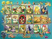,LANDSCAPES, LANDSCHAFTEN, PAISAJES, LornaFinchley, paintings+++++,USHCFIN0050AZ,#L#, EVERYDAY ,vintage,stamps,puzzle,puzzles