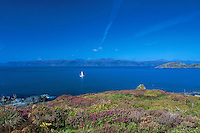 Mull and the Sound of Mull from High Hill, Easdale, Argyll & Bute