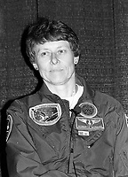 Montreal (qc) CANADA - file Photo - 1992 - <br /> Roberta Bondar, astronaut