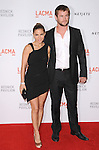 "Elsa Pataky and Chris Hemsworth at LACMA's ""The Unmasking"" The Lynda & Stewart Resnick Exhibition Pavilion Opening Gala at       The Los Angeles County Museum of Art in Los Angeles, California on September 25,2010                                                                               © 2010 DVS / Hollywood Press Agency"