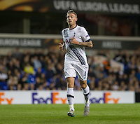 Toby Alderweireld of Tottenham Hotspur during the UEFA Europa League match between Tottenham Hotspur and Qarabag FK at White Hart Lane, London, England on 17 September 2015. Photo by Andy Rowland.