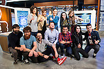 """Full team during the presentation of the new TV program to Movistar+,  """" Likes """" at 7 y accion studios in Madrid. January 27, 2016.<br /> (ALTERPHOTOS/BorjaB.Hojas)"""