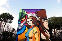 20190116 Street Art in Rome Tor Bella Monaca