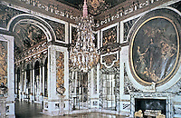 Palace of Versailles--Salon of Peace. Baroque architecture.