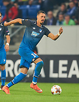 Sandro WAGNER, Hoff 14<br /> TSG 1899 HOFFENHEIM - ISTANBUL Basaksehir  3-0<br /> Gruppe C, Football UEFA Europa League, Hoffenheim, 19.10.2017<br /> EL Saison 2017/2018<br /> <br />  *** Local Caption *** © pixathlon +++ tel. +49 - (040) - 22 63 02 60 - mail: info@pixathlon.de