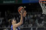 Anadolu Efes´s Dario Saric during 2014-15 Euroleague Basketball Playoffs match between Real Madrid and Anadolu Efes at Palacio de los Deportes stadium in Madrid, Spain. April 15, 2015. (ALTERPHOTOS/Luis Fernandez)