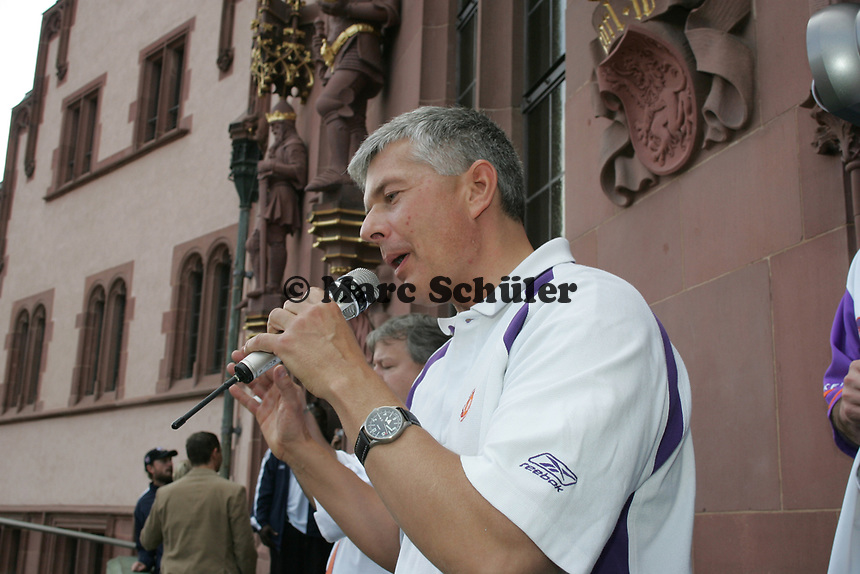 Frankfurt Galaxy General Manager Tilman Engel