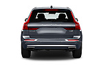 Straight rear view of a 2018 Volvo XC60 Inscription 5 Door SUV stock images