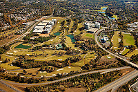 Charlotte aerial photography - October 2010 - of the Ballantyne Corporate Park and Ballantyne golf course.