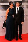 The President of the Basque Country Goverment, Lendakari Patxi Lopez and his wife Begona Gil during the 60th San Sebastian Donostia International Film Festival - Zinemaldia.September 20,2012.(ALTERPHOTOS/ALFAQUI/Acero)