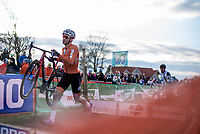 David Van der Poel (NED) <br /> <br /> Men's Elite race <br /> <br /> UCI 2019 Cyclocross World Championships<br /> Bogense / Denmark<br /> <br /> ©kramon