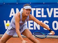 Amstelveen, Netherlands, 6 Juli, 2021, National Tennis Center, NTC, Amstelveen Womans Open, Xiyu Wang (CHN)<br /> Photo: Henk Koster/tennisimages.com