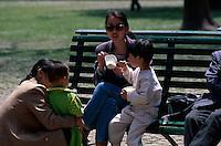 China, Peking, Himmelstempel-Park, Besucher