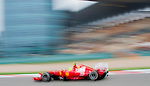 Scuderia Ferrari driver Felipe Massa of Brazil speeds his car during the UBS Chinese F1 Grand Prix at Shanghai International circuit April 13, 2012. Photo by Victor Fraile