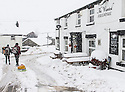 04/03/2016<br /><br />As Storm Jake passes through the UK, much of the north of England experienced heavy snowfall the night before. In Sparrowpit, in the High Peak, Derbyshire, fields many roads were impassable.<br /><br />All Rights Reserved: F Stop Press Ltd. +44(0)1335 418365   +44 (0)7765 242650 www.fstoppress.com