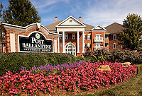 The Post Ballantyne Apartment Homes are located in Ballantyne, a suburb community of Charlotte NC, is located near the South Carolina border. The 2,000-acre mixed-use development was created by land developer Howard C. Smokey Bissell.