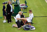 25-06-12, England, London, Tennis , Wimbledon, Magdalena Rybarikova