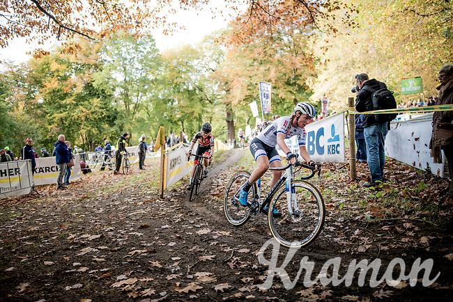 European CX Champion Annemarie Worst (NED/777)<br /> <br /> Womens Race<br /> 42nd Superprestige cyclocross Gavere 2019<br /> <br /> ©kramon