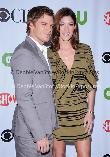 Jennifer Carpenter & Michael C. Hall at The CBS,CW,& Showtime TCA Party held at The Huntington Library in San Marino, California on August 03,2009                                                                   Copyright 2009 Debbie VanStory / RockinExposures