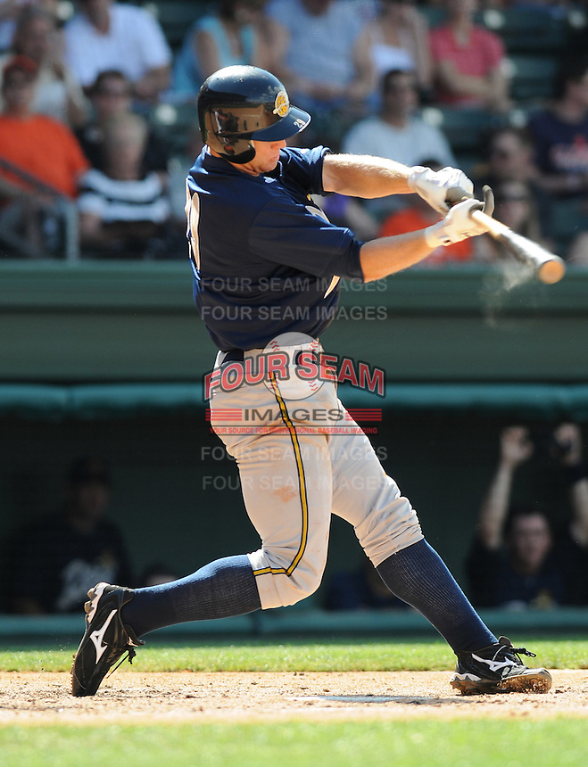 May 31, 2009: Infielder David Adams (29) of the Charleston RiverDogs, Class A affiliate of the New York Yankees, in a game against the Greenville Drive at Fluor Field at the West End in Greenville, S.C. Photo by: Tom Priddy/Four Seam Images