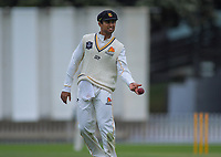 Wellington's Rachin Ravendra during day two of the Plunket Shield cricket match between the Wellington Firebirds and Auckland at Basin Reserve in Wellington, New Zealand on Saturday, 9 November 2019. Photo: Dave Lintott / lintottphoto.co.nz