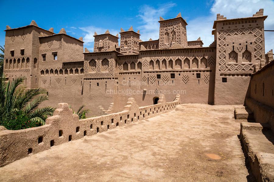 Kasbah Ameridhil, near Skoura, Morocco.  Architectural Details.