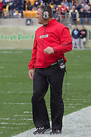 Utah head coach Kyle Whittingham. The Utah Utes defeated the Pitt Panthers 26-14 at Heinz Field, Pittsburgh, Pennsylvania on October 15, 2011.