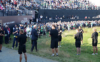18th July 2021; Royal St Georges Golf Club, Sandwich, Kent, England; The Open Championship,  Golf, Day Four;  Chief Executive of The R&A and Secretary of The Royal and Ancient Golf Club of St Andrews Martin Slumbers walks through a guard of honour with the claret jug before the presentation